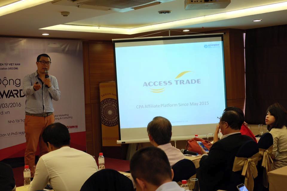 インタースペースベトナム代表のAnhによるACCESSTRADEのプレゼンテーション